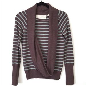 Anthropologie Change of The Moon Striped Sweater S